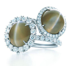 Cat eye gem ring