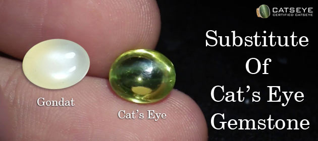 Substitute Of Cat's Eye Gemstone