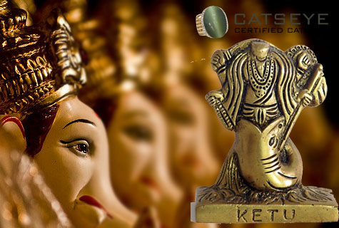 lord ganesha and planet ketu